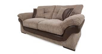 Dfs Two Seater Sofa Dfs Landon Nutmeg Fabric Large 2 Seater Sofa Bed Ebay