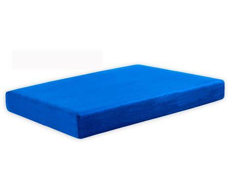 Memory Foam Mattress Toddler by Pedic 8 Quot Memory Foam Mattress Blue Mattresses