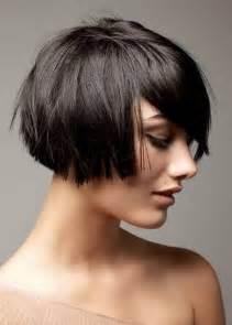 Textured inverted bob short layered haircuts