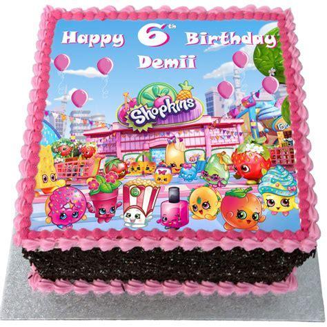 Shopkins Birthday Cake   Flecks Cakes