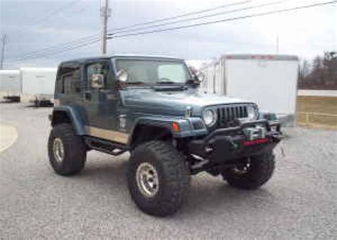 Broken Arrow Jeep 1998 Jeep Wrangler Custom 18500 Broken Arrow For