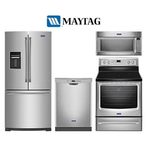 maytag kitchen appliance packages maytag maytagpackage2 french door appliance package