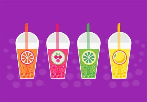 bubble tea vector   vector art stock