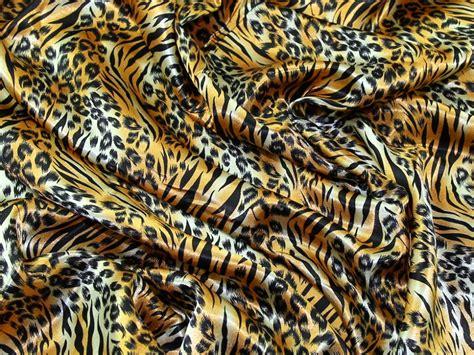 satin leopard animal print dress fabric asp leopard wine satin tiger animal print dress fabric asp tiger gold m