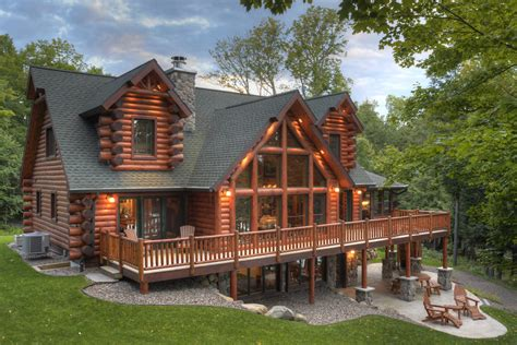 cabin homes tomahawk log and country homes inc