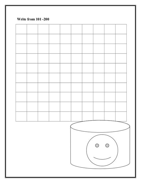 printable number line to 200 counting worksheets to 200 free number line worksheets