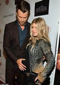 Black Eyed Peas Fergie Engaged To Josh Duhamel Reps Confirm by Fergie Baby Bump And Husband Josh Duhamel At