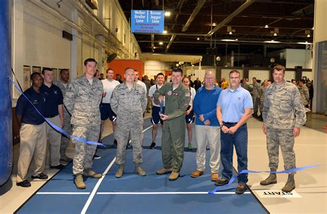 offutt field house field house track opens earlier than scheduled gt offutt air force base gt news