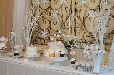 party themes winter fanciful events wintry sugar plum nutcracker wonderland