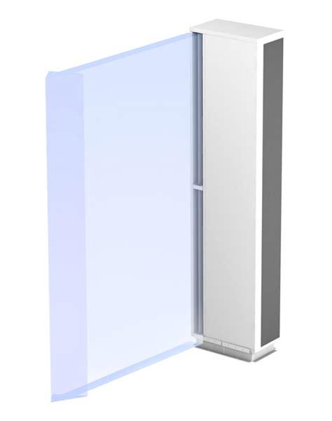 horizontal air curtain how air curtains work