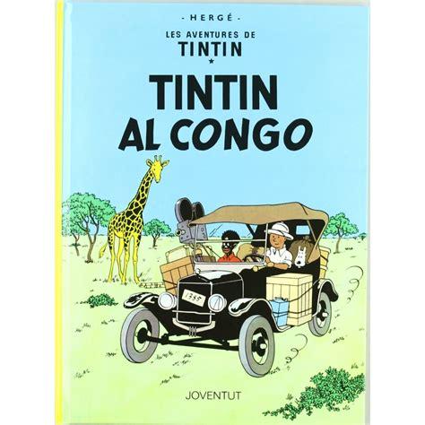album les aventures de tintin tintin au congo bd addik