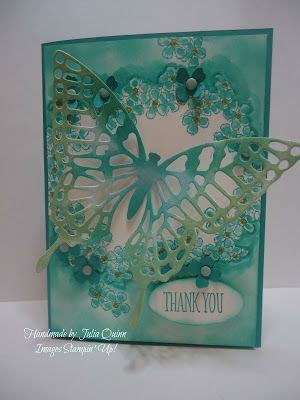 Butterfly Cards Handmade - 17 best images about su butterfly basics thinlits on