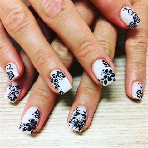 white and black pattern nails 21 black and white nail art designs ideas design