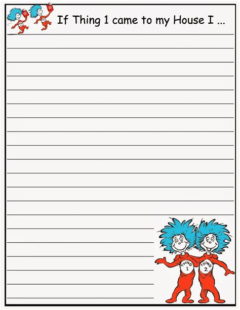 cat in the hat writing paper best photos of cat writing paper template cat in the hat