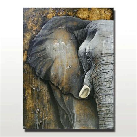 watercolor elephant tutorial huge elephant painting original mixed media by