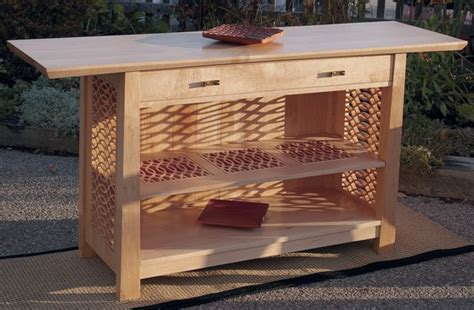 Sideboard Table Plans Cnc Woodworking Projects House Woodshop Woodworking