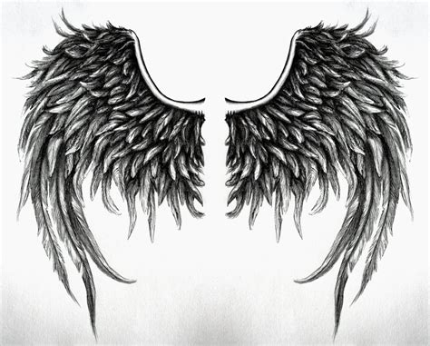 dark angel wings tattoo designs fallen wings design no4 by swarzeztier on deviantart