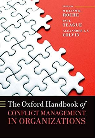 the oxford handbook of talent management oxford handbooks books the oxford handbook of conflict management in