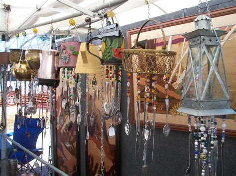 home decor with recycled materials best of chimes windchimes and home decor made from