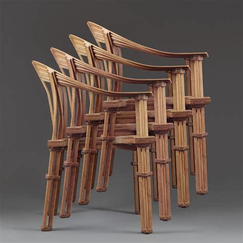 Bentwood Armchair Bamboo Furniture By Jeff Da Yu Shi At Beijing Design Week 2012