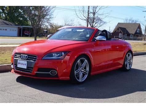Audi Tts Convertible by 2012 Audi Tts Convertible For Sale