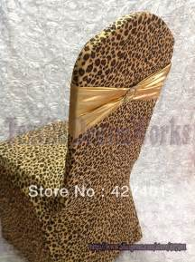 Where Can I Buy Sofa Covers New Products Leopard Print Lycra Chair Cover Arch Front