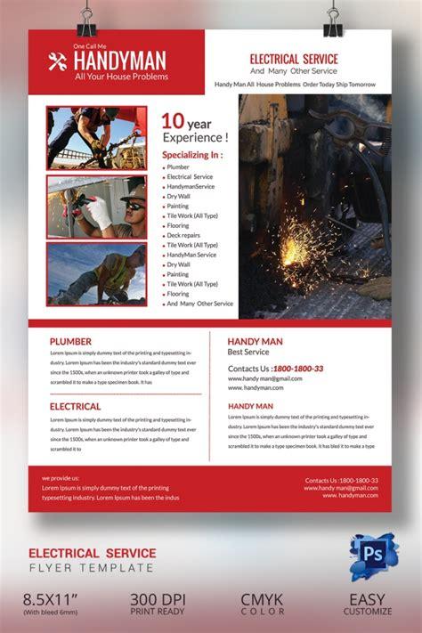 13 Best Handyman Flyer Templates Designs Free Premium Templates Handyman Flyer Template Free