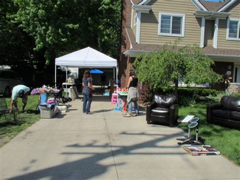 huntington woods garage sale is hopping on day