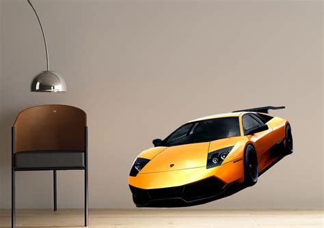 Lamborghini Stickers Lamborghini Murcielago Lp 670 4 Transport Printed Wall Sticker