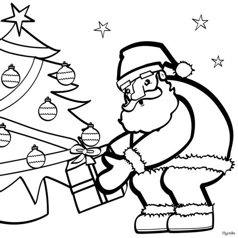 images of santa coloring pages santa coloring pages 2018