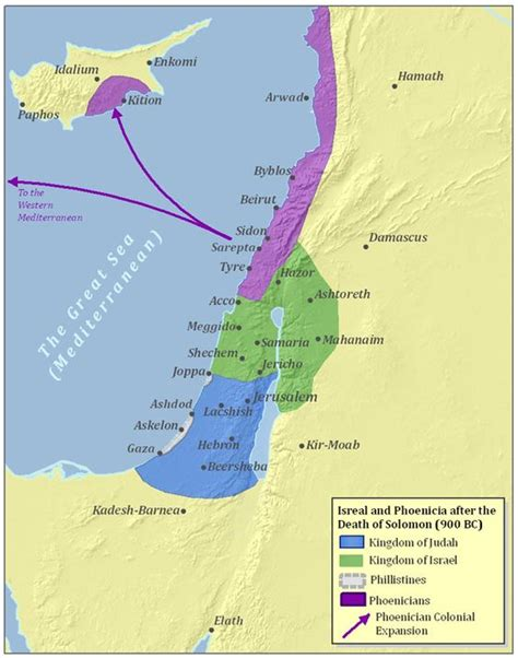 ancient middle east map judah ancient israel and phoenicia map hebreeuwen