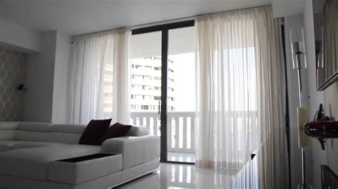 automated curtains motorized curtains miami beach youtube