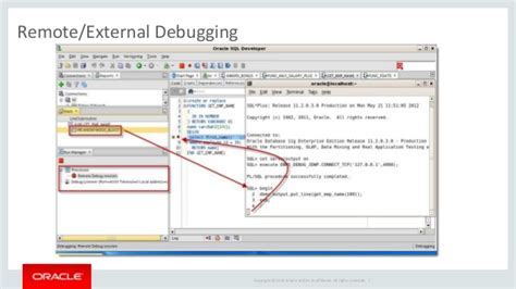tutorial oracle sql developer debugging pl sql with oracle sql developer