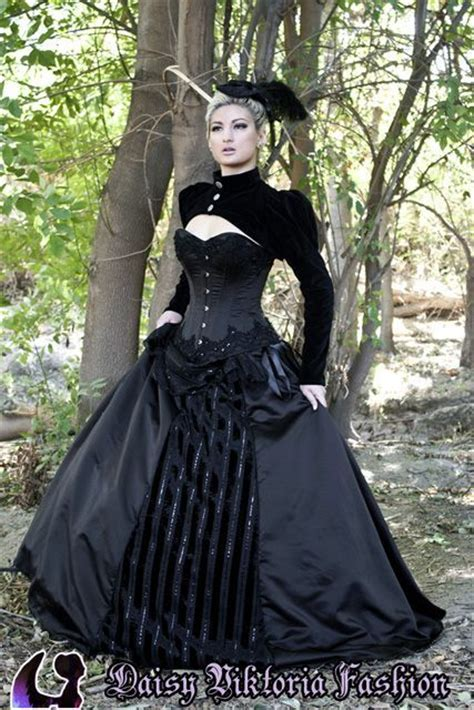 victorian gothic neo victorian wedding dress that would also be a perfect