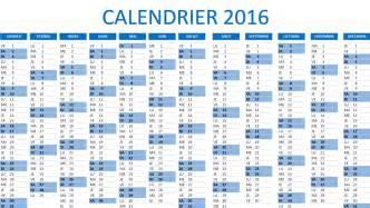 calendrier 2016 excel 224 t 233 l 233 charger gratuitement