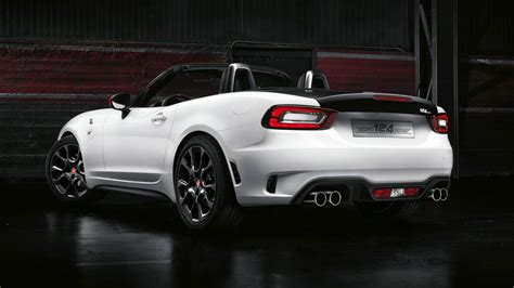 abarth 124 spider prices announced for uk drivers magazine