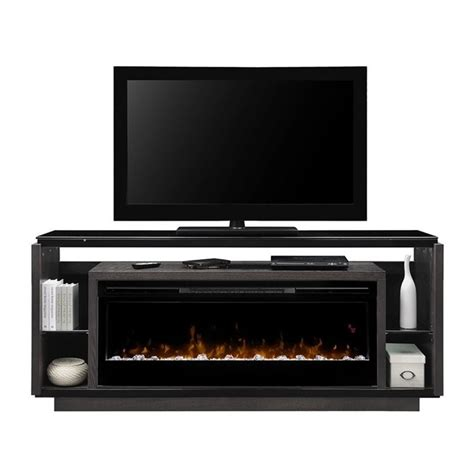 dimplex david sparkling ember bed electric fireplace tv