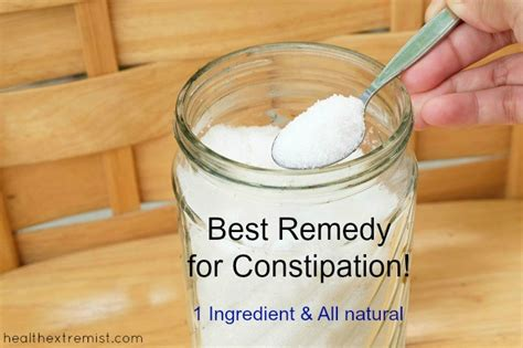 constipation remedy best remedy for constipation health extremist