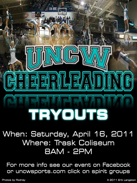 The Landing Cheer Tryouts Free Cheerleading Tryout Flyer Template