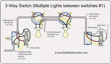three way wiring diagram lights wiring diagram