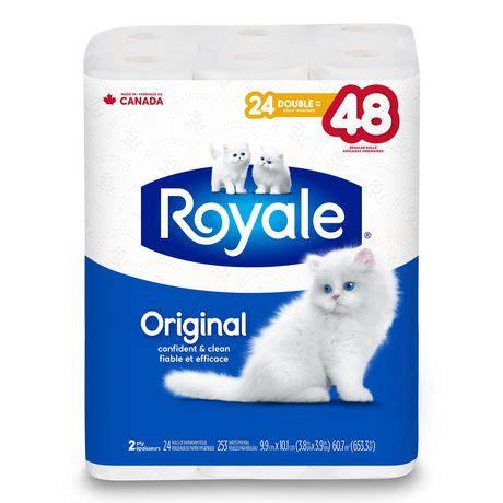 royale original  ply bathroom tissue walmartca