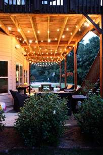 Hanging Lights For Patio 102 Best Images About Patio Lights On Decks Outdoor And Patio