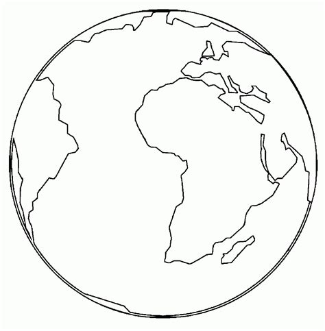 World Globe Coloring Page Coloring Coloring Pages Globe Coloring Pages