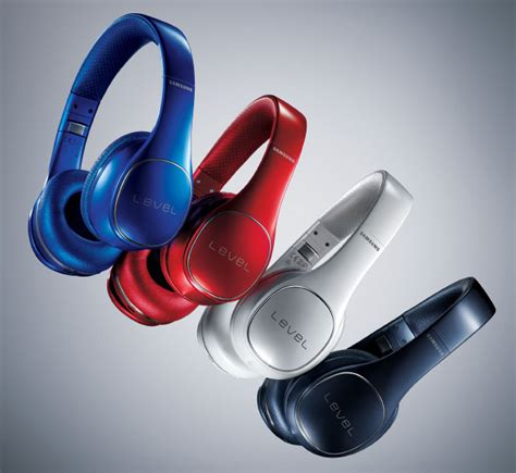 Earphone Samsung Level samsung announces level on wireless and level link bluetooth headphones