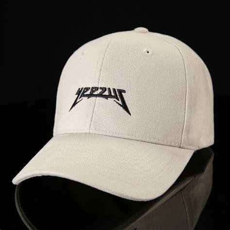 Topi Baseball Baseball Cap Yeezus sand 2016 yeezus baseball cap wehustle menswear