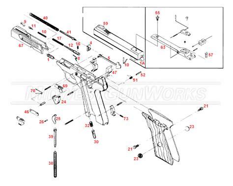 Browning Buckmark Parts Diagram