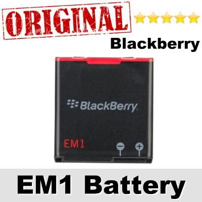 Battery Vizz Blackberry 9360 Em1 Power original blackberry e m1 em1 curve 93 end 8 2 2017 9 30 pm