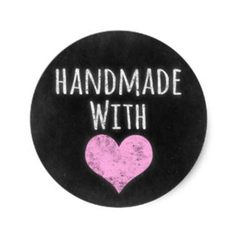 Handmade Stickers - handmade with stickers zazzle au