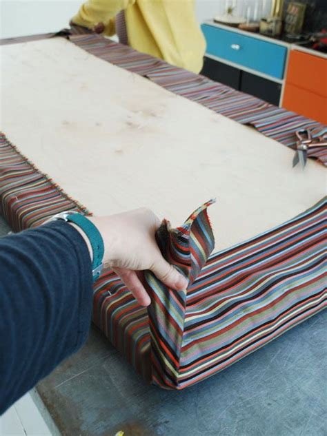 how to make bench cushions easy how to make an easy no sew cushion outdoor benches