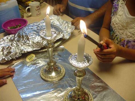 candle lighting
